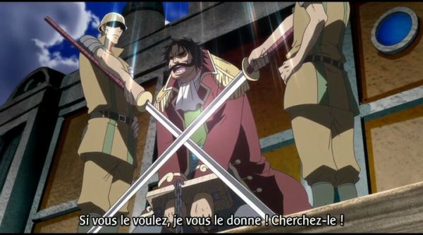 Gol D. Roger & Silvers Rayleigh