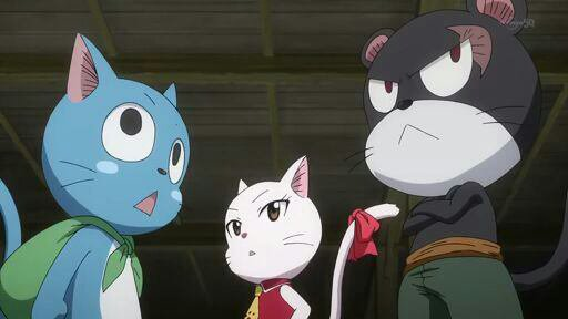 Team Natsu + Gajeel, Panther Lily & Mirajane