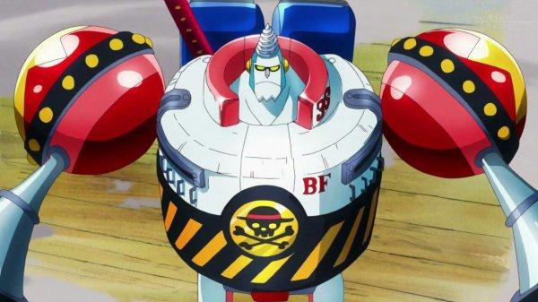 Chopper, Franky (+ Général Franky) & Sanji - Punk Hazard