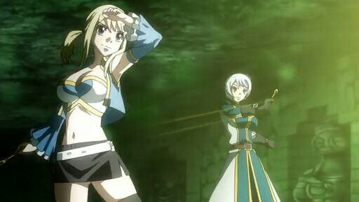 Yukino Aguria & Lucy Heartfilia