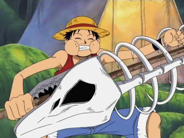 Monkey D. Luffy - Skypiea
