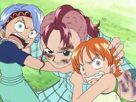 Nami, Nojiko & Belmer (8 ans avant le début de l'histoire) - Arc Arlong
