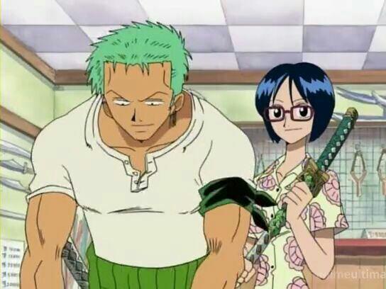 Tashigi & Roronoa Zoro - Arc Loguetown