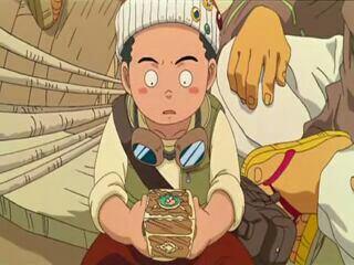 Akisu - Film 02, Aventure sur l'île de l'horloge