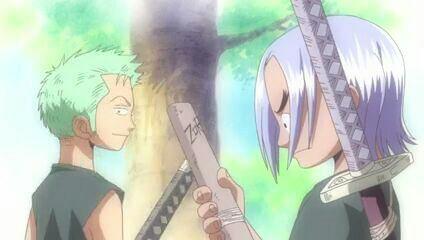 Saga & Roronoa Zoro (Flashback) - Film 05, La malédiction de l'épée sacrée
