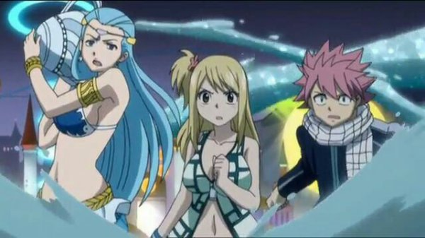 Cancer, Virgo, Taurus & Aquarius + Natsu Dragnir, Lucy Heartfilia & Lucy Ashley (Edo-Lucy) - Arc Edolas
