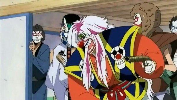 """Baggy """"Le Clown"""", Cabaji, Morge & Richy - SP 04, Projet spécial de fin d'année ! Mémoires du boss Luffy au Chapeau de Paille (partie 1)"""