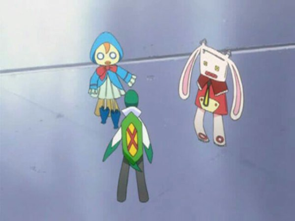 Lilin (ou Ririn), Claude (ou Kurōdo) & Nova - Arc Bount