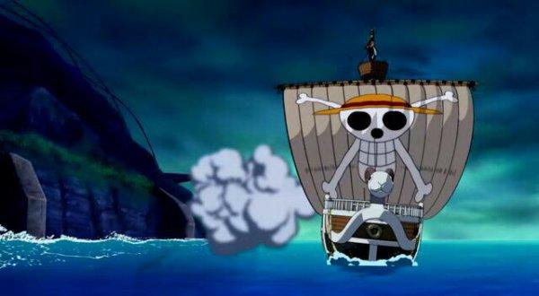 Monkey D. Luffy & Roronoa Zoro + Vogue Merry - Film 07, Le Mecha géant du château Karakuri