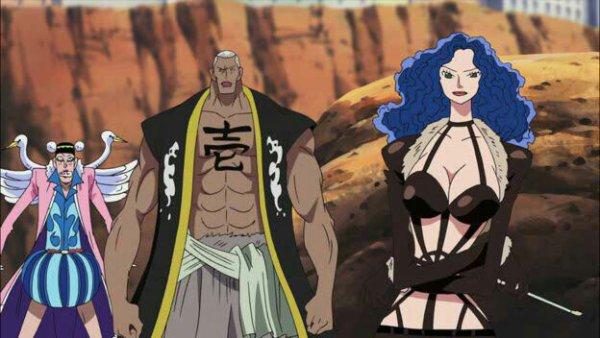 Mister 1, Miss Doublefinger, Mister 2, Mister 4 & Miss Merry Christmas - Film 08, Episode d'Alabasta : Les pirates et la Princesse du désert
