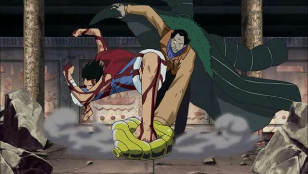 Monkey D. Luffy vs Crocodile - Film 08, Episode d'Alabasta : Les pirates et la Princesse du désert