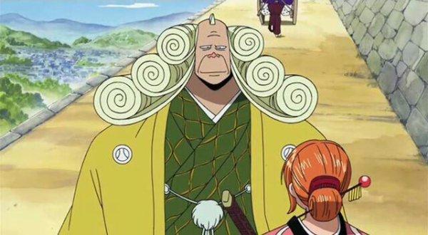"Monkey D. Luffy, Nami, Usopp, Nefertari Vivi, Nefertari Cobra & Igaram + Baggy ""Le Clown"" - Episodes fillers 291; 292 & 303, Le retour du Boss Luffy"