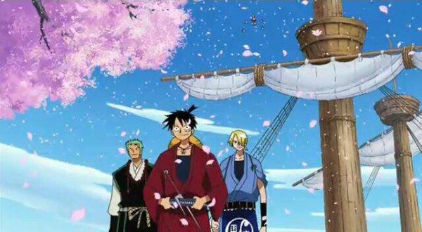 Monkey D. Luffy, Roronoa Zoro, Nami, Usopp, Sanji, Chopper & Nico Robin - Episodes fillers 291; 292 & 303, Le retour du Boss Luffy