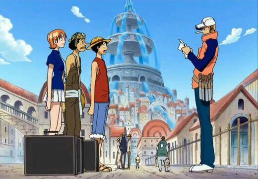 Monkey D. Luffy, Roronoa Zoro, Nami & Usopp + Icebarg, Pauly, Rob Lucci (+ Hattori), Kaku & Kalifa - Arc Water 7