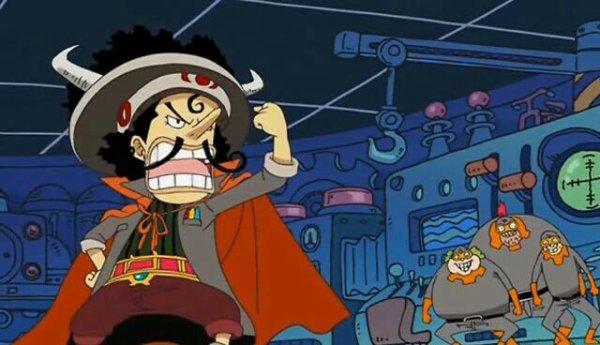 Usopp (Dr Usodabada) & Chopper (Chopperman) - Le petit théâtre du Chapeau de Paille (Chopperman)