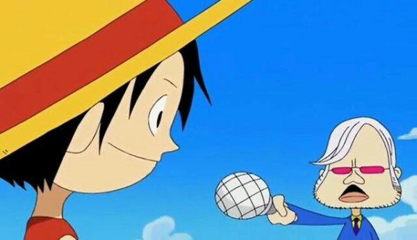 Tsubaki + Monkey D. Luffy & Roronoa Zoro - Le petit théâtre du Chapeau de Paille (Report Time)