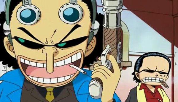 Monkey D. Luffy (Don Luffione), Roronoa Zoro (Don Zoroscia), Nami (Namimore), Usopp (Usotuya), Sanji (Don Sanjino) & Chopper (Choparini) - Le petit théâtre du Chapeau de Paille (Jingi-nai Time (ou Mafia Time))