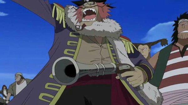 Pirate inconnu (Flashback sur le passé de Rob Lucci) - Arc Enies Lobby