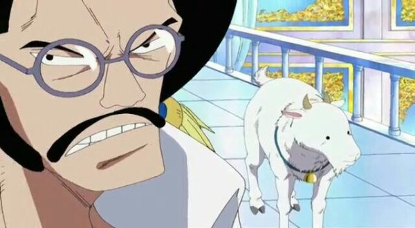 Sengoku (Flashback de Haguar D. Sauro) - Arc Enies Lobby