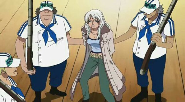 Nico Olvia & Haguar D. Sauro (Flashback de Haguar D. Sauro) - Arc Enies Lobby