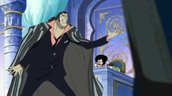 Kuzan Aokiji, Haguar D. Sauro, Sakazuki Akainu, Nico Robin, Sengoku & Spandine (Flashback de Nico Robin) - Arc Enies Lobby
