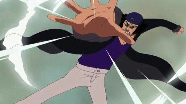 Kuzan Aokiji (Flashback de Nico Robin) - Arc Enies Lobby