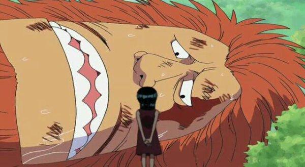 Nico Robin & Haguar D. Sauro (Flashback de Nico Robin) - Arc Enies Lobby