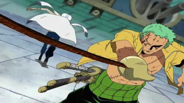 Shu (vs Roronoa Zoro) - Arc Enies Lobby