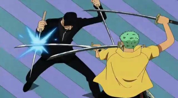 Roronoa Zoro vs Kaku - Arc Enies Lobby
