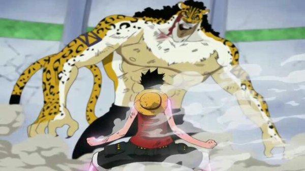 Monkey D. Luffy vs Rob Lucci - Arc Enies Lobby