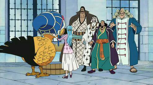 Nefertari Vivi, Karoo, Nefertari Cobra, Igaram, Pell & Chaka - Arc Post-Enies Lobby