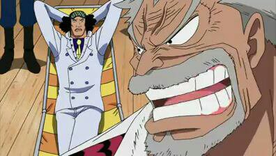 Kuzan Aokiji (+ Monkey D. Garp) - Arc Post-Enies Lobby