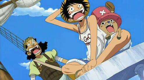 Monkey D. Luffy, Usopp (Sniperking) & Chopper - Arc Post-Enies Lobby