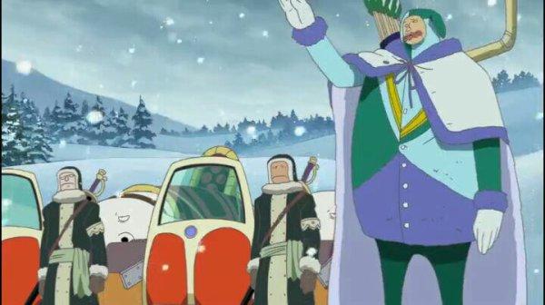 Chess & Kuromarimo - Film 09, Episode de Chopper : Le miracle des cerisiers en hiver