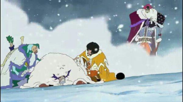 Wapol, Mushul, Chess & Kuromarimo - Film 09, Episode de Chopper : Le miracle des cerisiers en hiver