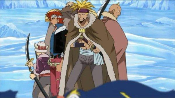 Equipage du Phoenix (hormis Jiro) - Arc Ice Hunters