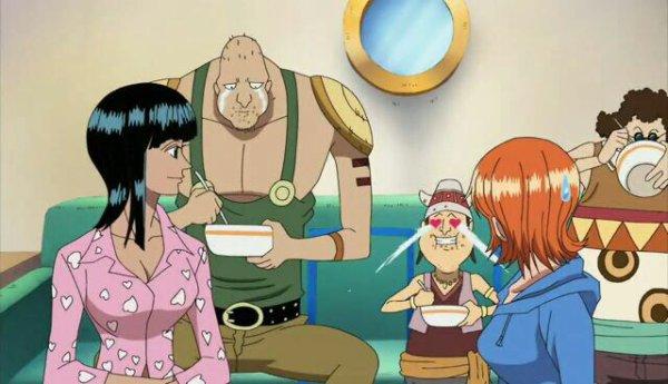 Monkey D. Luffy, Nami, Sanji, Chopper, Nico Robin & Franky + Puzzle, Jiro, Basil, Gairo, Lago, Race, Sutton & Troff - Arc Ice Hunters