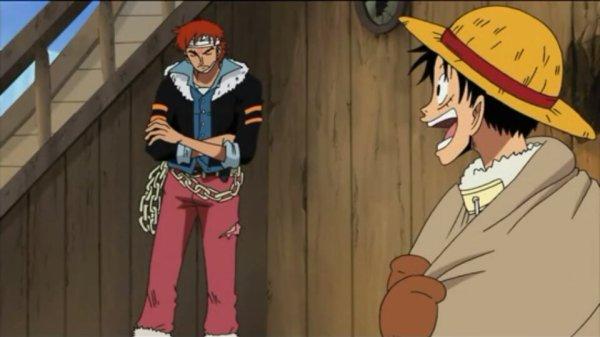 Monkey D. Luffy, Roronoa Zoro, Usopp, Sanji, Chopper & Nico Robin + Puzzle, Stansen & Jiro - Arc Ice Hunters