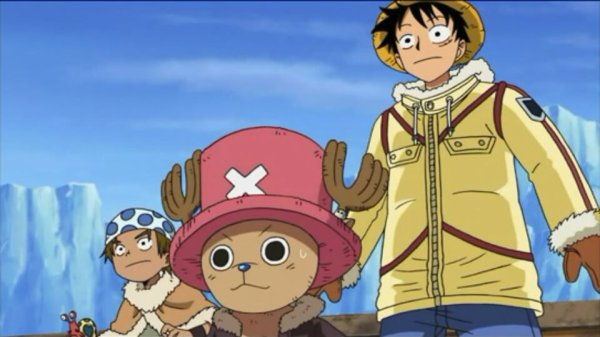 Monkey D. Luffy, Chopper & Jiro - Arc Ice Hunters