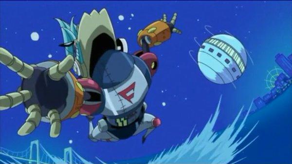 Gigantic Robot Frangashan - Episode filler Chopperman (épisode 336)
