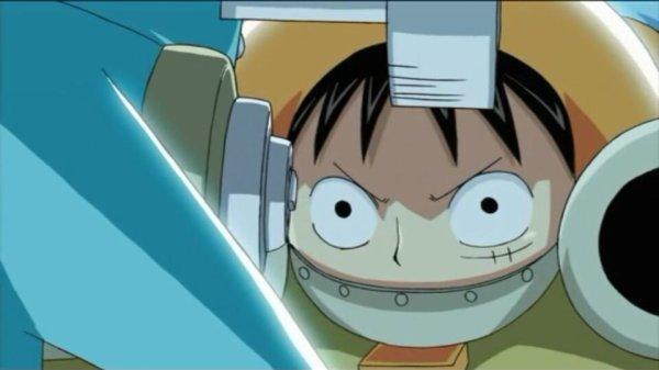 Giant Luffy Bomber - Episode filler Chopperman (épisode 336)