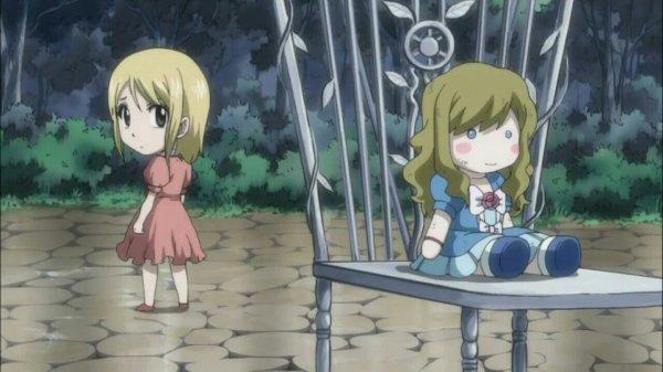 Lucy Heartfilia, Layla Heartfilia, Jude Heartfilia & Michelle (poupée) (Souvenirs de Lucy) - Arc La Clé du Ciel Étoilé