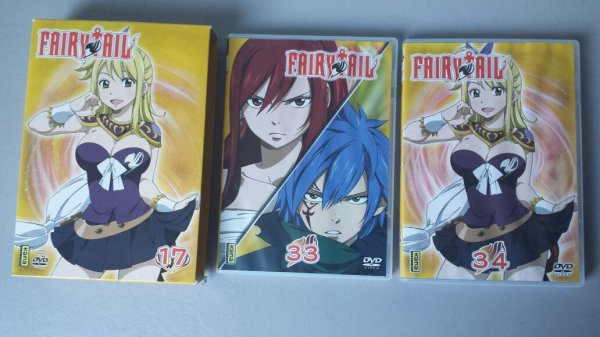 Derniers achats de 2015 - Collection One Piece, Bleach & Fairy Tail