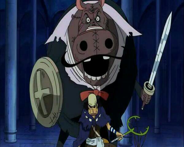 Usopp (Sniperking) vs Kumacy & Hippo-Gentleman - Arc Thriller Bark