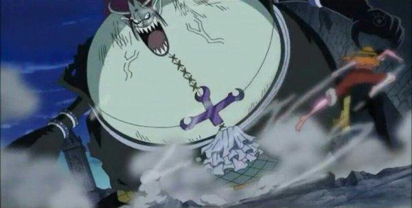 Gecko Moria + Monkey D. Luffy & Nico Robin - Arc Thriller Bark