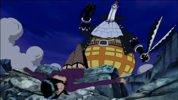 Gecko Moria + Monkey D. Luffy & Nico Robin - Arc Thriller Bark