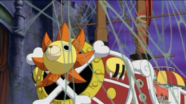 Thousand Sunny, Shiro Mokuba I & Mini Merry II - Arc Thriller Bark