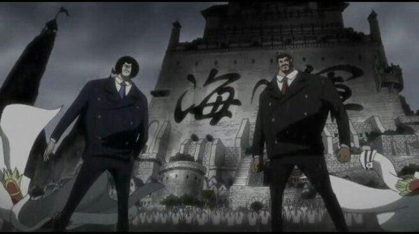 Kinjishi no Shiki vs Monkey D. Garp & Sengoku - OAV 03, Episode 0