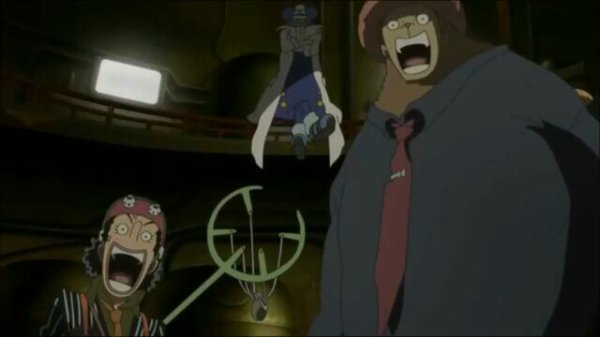 Dr Indigo & Scarlet + Usopp, Chopper & Roronoa Zoro - Film 10, Strong World