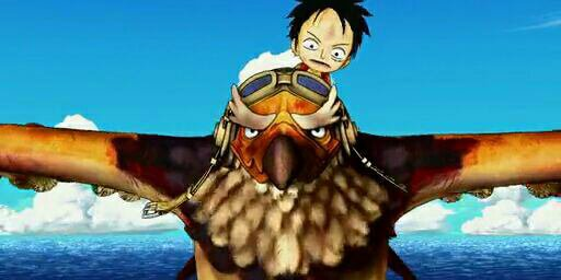 Schneider & Buzz + Chopper, Nami & Monkey D. Luffy - Film 11, One Piece 3D Mugiwara Chase (A la poursuite du Chapeau de Paille)